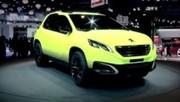 Les concepts Peugeot 2008 et RCZ-R