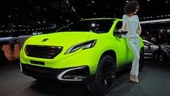 Peugeot 2008 Concept au Mondial