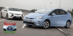 Essai Opel Ampera et Toyota Prius rechargeable