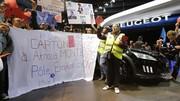 Manifestations au Mondial de l'automobile : les concept-cars disparaissent des stands