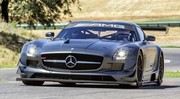 Mercedes SLS AMG GT3 45th Anniversary : exclusive de piste