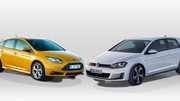 Volkswagen Golf GTI contre Ford Focus ST : duel germanique