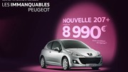 La Peugeot 207+ casse les prix