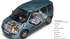 Renault Velroue, utilitaire et hybride
