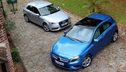 Essai Audi A3 1.8 TFSI 180 ch vs Mercedes Classe A 200 156 ch : Dilemme premium
