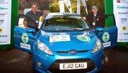 Ford Fiesta lauréate du MPG Marathon