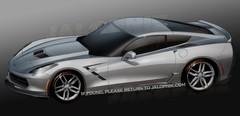 Chevrolet Corvette C7, présentation au Salon de Détroit 2013