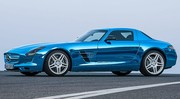 Mercedes SLS AMG Electric Drive, Mercedes numéro 1
