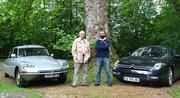 Essai Citroën DS 20 Pallas (1974) vs Citroën C6 3.0 V6 HDi (2012) : duel de voitures présidentielles