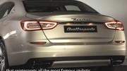 Nouvelle Maserati Quattroporte : déjà les premières vidéos
