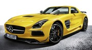 Mercedes SLS AMG Black Series : Attention, elle mord !
