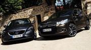 Essai Citroën DS4 1.6 THP 200 ch vs Volvo V40 T4 1.6 180 ch : Compactes alternatives