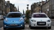 Etonnant, la Fluence électrique bat la Nissan Leaf