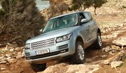 Essai Range Rover 4 TDV6, SDV8 et Supercharged : King of the (off) road