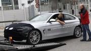 La BMW Série 4 Coupé presque nue