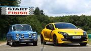 Renault R8 Gordini 1300 vs Renault Mégane RS 2012 : le sport à la française