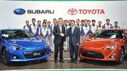 """Subaru BRZ / Toyota GT86 : élues """"Sportive de l'Année 2012"""" par la magazine Echappement"""