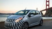 Chevrolet Spark EV : 130 ch à recharge rapide