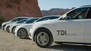 Le V6 diesel Audi en force au salon de Los Angeles : les Américains adoptent ce carburant