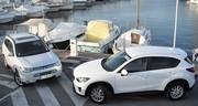 Essai Mitsubishi Outlander vs Mazda CX-5 : Le jeune premier défie le pionnier