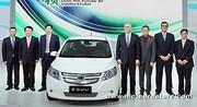 La Chevrolet Sail Springo électrique de Shanghaï GM