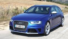 Essai Audi RS4 Avant 2012 V8 4-2 FSI 450 Ch : La preuve par 4