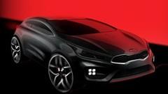 Un coupé 3 portes Kia pro_cee'd GT