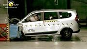 Crash-test Dacia Lodgy : Résultat sans éclat