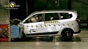 Euro NCAP : seulement 3 étoiles pour le Dacia Lodgy