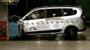 Le Dacia Lodgy pointé du doigt par EuroNCAP