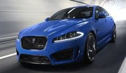 Jaguar XFR-S V8 Turbo 550 ch 2013 : Oh le beau félin bleu