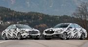Mercedes CLA 45 AMG camouflée en photos et vidéo