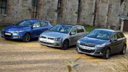 Essai Citroën C4 II vs Renault Mégane 3 vs Volkswagen Golf 7 : Trois compactes pour un trône