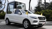 Mercedes Classe M : une nouvelle Papamobile pour Benoît XVI