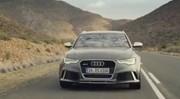 Audi RS6 Avant : première vidéo officielle