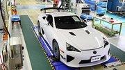 Lexus LFA : fin de production