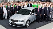 Skoda Octavia 3 : début de la production