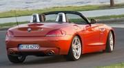 Le BMW Z4 se repoudre avec parcimonie