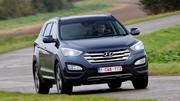 Essai Hyundai Santa Fe 2.2 CRDi 4WD A