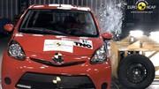 Citroën C1 / Peugeot 107 / Toyota Aygo : seulement trois étoiles aux tests Euro NCAP