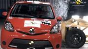 Trois étoiles pour les Toyota Aygo, Citroën C1 et Peugeot 107