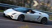 Essai Lamborghini Gallardo LP560-4 Spyder 560 ch (2013) : Du (presque) neuf avec du vieux