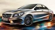 Mercedes CLA : la famille Classe A s'agrandit