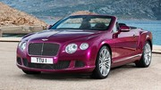 Bentley Continental GTC Speed 2013 : 625 chevaux au vent