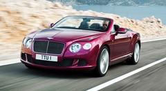 Bentley découvre sa Continental GT Speed pour le salon de Detroit