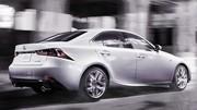 Lexus IS 2013 : Changement tranchant