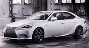 Nouvelle Lexus IS en photos officielles