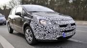 Premières photos de l'Opel Corsa restylée !