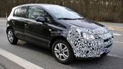 Opel Corsa 2013 : première photos volées