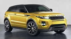Range Rover Evoque : édition limitée Jaune Sicile
